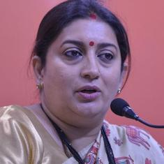 'Mantri Bhi Kabhi Graduate Thi': Congress attacks Smriti Irani, asks her to step down