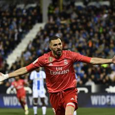 Benzema in no mood to quit international football as Zidane says striker's France exile should end