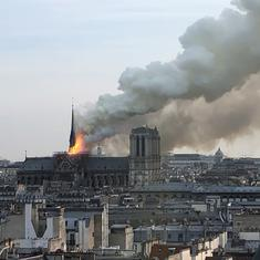 France announces global contest for architects to rebuild Notre Dame Cathedral's spire