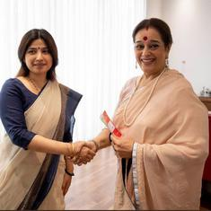 Shatrughan Sinha's wife Poonam Sinha joins SP, will contest against Rajnath Singh in Lucknow