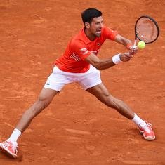 Monte Carlo Masters: Djokovic wins hard-fought battle with Kohlschreiber; Wawrinka, Cilic exit