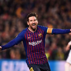 Messi doing what he does best: Twitter reacts to Barca star's demolishing of Manchester United