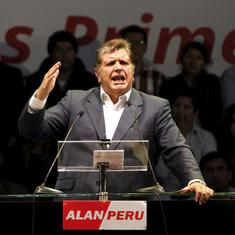 Peru: Faced with arrest, former president shoots himself in the head, dies soon after