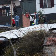 Portugal: At least 29 people killed as tourist bus crashes in Madeira island