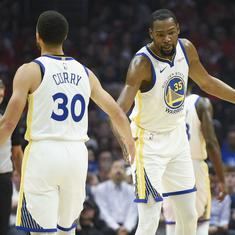 NBA Playoffs: Durant ensures Warriors don't blow away lead again, Spurs seize lead