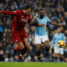 Three Manchester City and two Liverpool nominees for PFA Player of the Year award