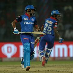 DC vs KXIP: Shreyas Iyer, Shikhar Dhawan take Capitals to a vital home win