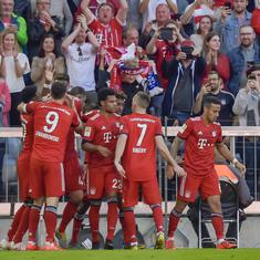 Bayern Munich snatch 1-0 win to remain ahead of Dortmund in Bundesliga title race
