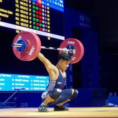 Asian Weightlifting Championships: 16-year-old Jeremy Lalrunnunga breaks youth world record in China