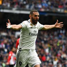 La Liga: Karim Benzema hat-trick fires struggling Real Madrid to win over Athletic Bilbao