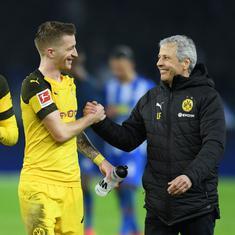 Bundesliga: Marco Reus leads Freiburg rout as Borussia Dortmund stay on Bayern Munich's heels