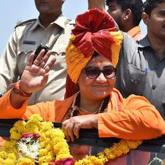 Opinion: Pragya Thakur's candidacy is only one more building block in the BJP's Hindu rashtra