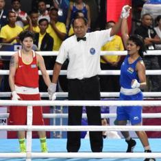 Asian Boxing Championships: Shiva Thapa creates history; Nikhat, Sarita Devi assured of medal