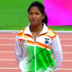 Asian Athletics C'Ships: Swapna Barman, 4x400 Mixed Relay clinch silver medals on day three