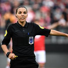 Football: Stephanie Frappart out to prove women referees can match men in historic Super Cup bow