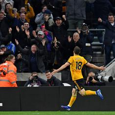 Football: Arsenal's chance of top-four finish dented after embarrassing 1-3 loss against Wolves
