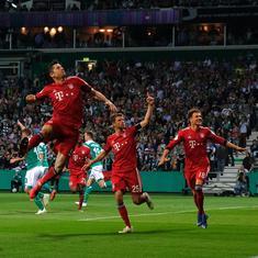 German Cup: Lewandowski fires Bayern Munich into final after 3-2 win over Werder Bremen