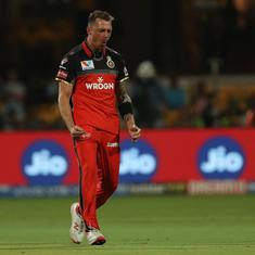 RCB pacer Dale Steyn ruled out of the remainder of IPL due to a shoulder injury
