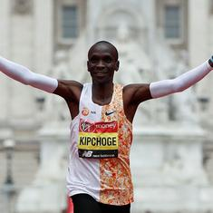 London Marathon: Olympic champ Kipchoge records second best time ever, India's Rawat finishes 27th