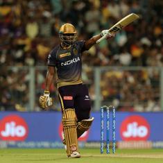 IPL 2019: Hardik's stunning knock in vain as Russell's all-round show powers KKR past MI