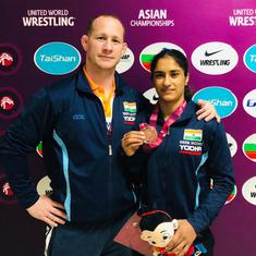 Wrestling: Vinesh Phogat adjusts to life in new weight category after Asian Championships bronze