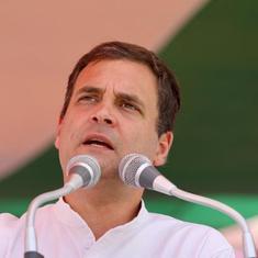 देश में पांच साल में 942 बम धमाके हुए हैं, प्रधानमंत्री कान खोलकर सुन लें : राहुल गांधी