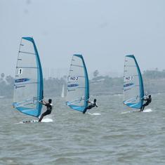 Junior National Sailing: Bangalore's Trishna Sailing Club dominates opening day at Marve beach