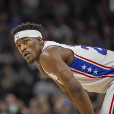 NBA playoffs: Jimmy Butler scores 30 points as 76ers hold off Raptors to level series