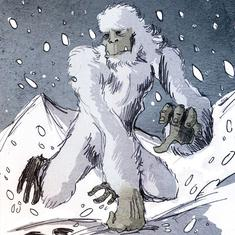 A scholar proved Yeti footprints were made by bears – but there's a vital reason the myth persists
