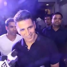 Watch: This was actor Akshay Kumar's reaction when asked about not casting his vote