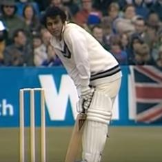World Cup moments: When a super slow Sunil Gavaskar played an innings to forget in 1975