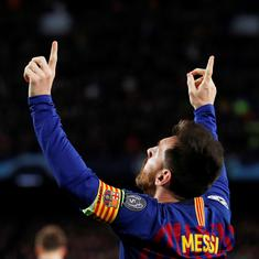 Champions League: Messi 'unstoppable' as Barcelona win 3-0 over Liverpool in semi-final first leg