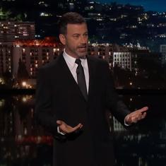 Watch: Jimmy Kimmel has a few thoughts on the Indian Army's claim of finding the Yeti's footprints