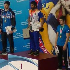 Wrestling: Bajrang Punia wins gold at Ali Aliev tournament in Russia