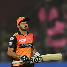 IPL 2019: Pandey has given us strength after Warner and Bairstow's departure, says SRH's Nabi