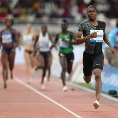 Barred from running 800m, Caster Semenya set to race 3000m at Prefontaine Classic Diamond League