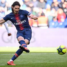 Cavani misses penalty as French champions PSG's dismal run continues with 1-1 draw against Nice