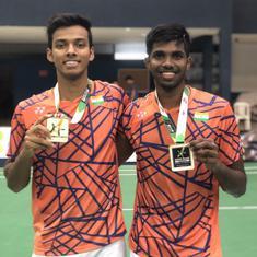 Badminton: Satwik and Chirag Shetty make winning return with Brazil International Challenge title