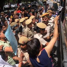 'Anti-judicial': Activists, lawyers protesting against SC and CJI Ranjan Gogoi detained by police