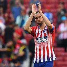 Football: Diego Godin announces he will leave Atletico Madrid at the end of the season