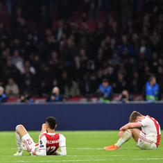 'Football is cruel': Ajax coach told players after heartbreaking loss to Spurs in Champions League