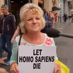 'I don't care': Watch these hilarious responses to the question – what if Homo Sapiens go extinct?