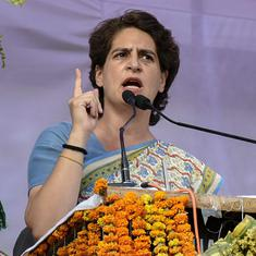 'I have not seen a PM who is weaker or a bigger coward than Narendra Modi,' says Priyanka Gandhi