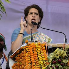 BJP government's silence on job losses and weakening trade is dangerous, says Priyanka Gandhi