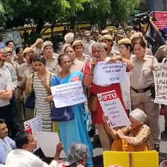 Watch these scenes of protests across India against clean chit to CJI in sexual harassment case