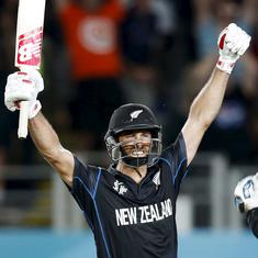 World Cup moments: Grant Elliot's magical finish against SA takes NZ to their first final