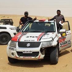 Desert Storm Rally: Aabhishek Mishra, Adrian Metge and Ankur Chauhan emerge champions