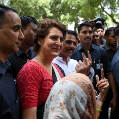 Lok Sabha polls: Priyanka Gandhi says it is 'very clear' that BJP will be defeated