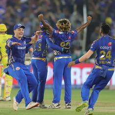 IPL 2019: Mumbai Indians defeat Chennai Super Kings by 1 run to win record fourth title