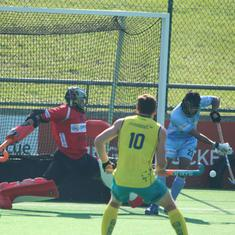 Hockey: Late goal by Harmanpreet Singh helps India draw 1-1 against Australia A